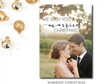 Married Christmas Cards
