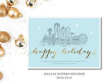 Dallas Scenes Holiday Cards