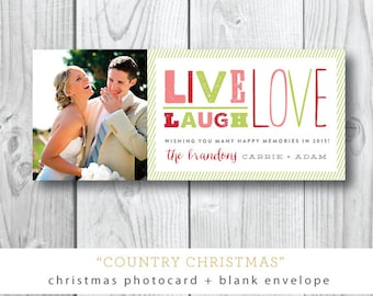 Country Christmas Cards