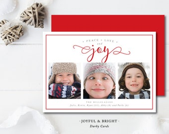 Joyful and Bright Holiday Cards