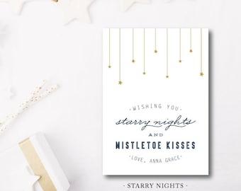 Starry Nights Holiday Cards
