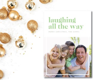 Caslon Snapshot Holiday Cards