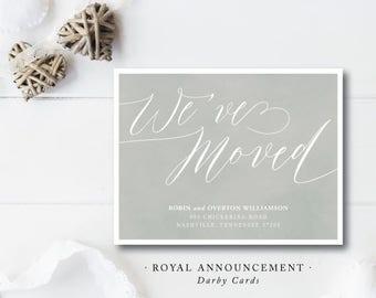 Royal Moving Announcements