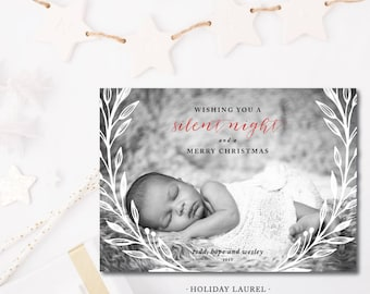 Holiday Laurel Cards