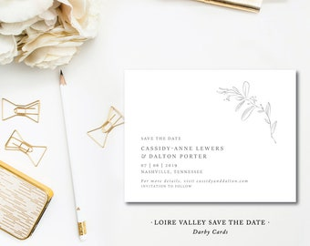 Loire Valley Save the Dates