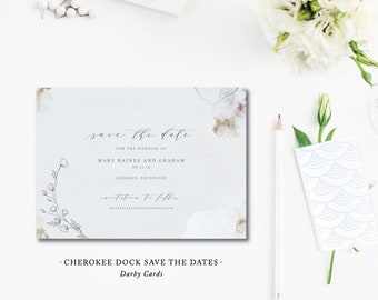 Cherokee Dock Save the Dates