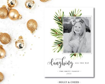 Holly and Cheer Christmas Cards