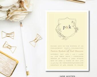 Jane Austen Invitations