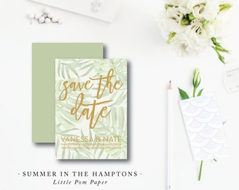 Summer in the Hamptons Save the Dates