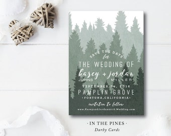 In the Pines Save the Dates