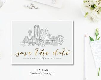 Dallas Scenes Save the Dates