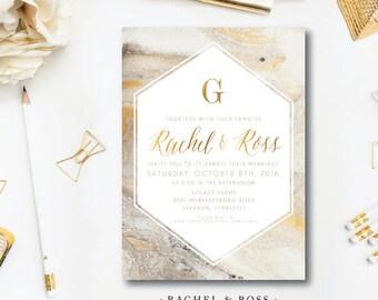 Rachel and Ross Wedding Invitations
