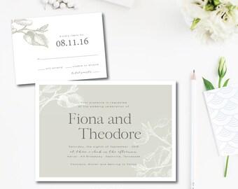 Alder Tree Wedding Invitations