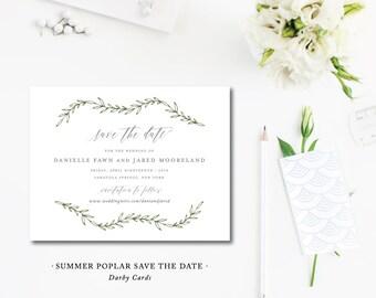 Summer Poplar Save the Dates