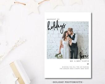 Holiday Photobooth Photocard