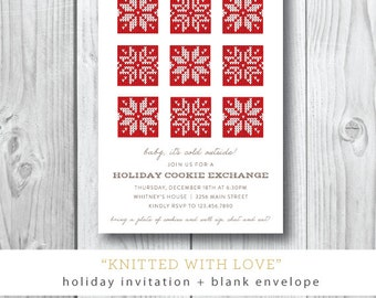 Knitted with Love Holiday Cards