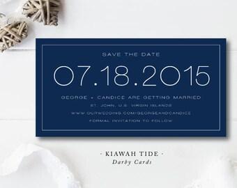 Kiawah Tide Save the Dates