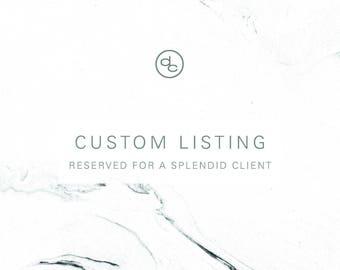 Custom Listing | Hannah Jernigan