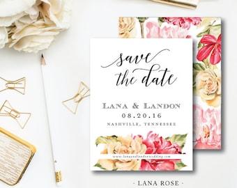 Lana Rose Save the Dates