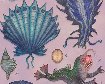 Specimens of the 7th Sea - A4 art print