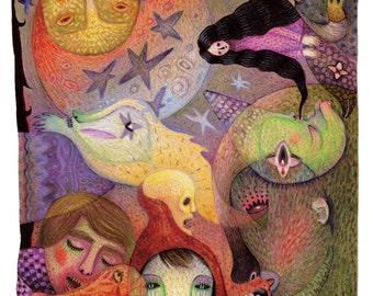 Fairytale - A4 art print