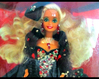SALE Christmas Barbie Doll Happy Holidays Special Edition 1991 Unopened Box Mint Condition Beautiful