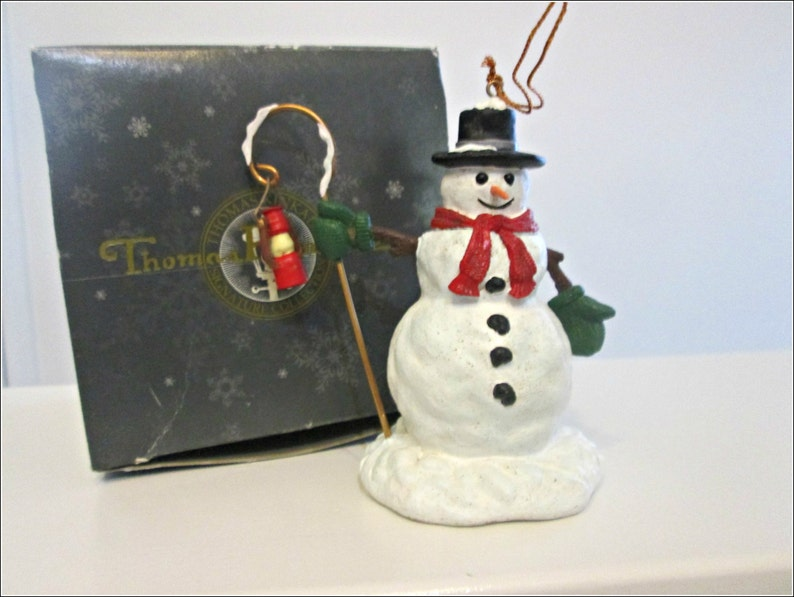 Vintage Thomas Kinkade Christmas Ornament Signature Collection Home For The Holidays