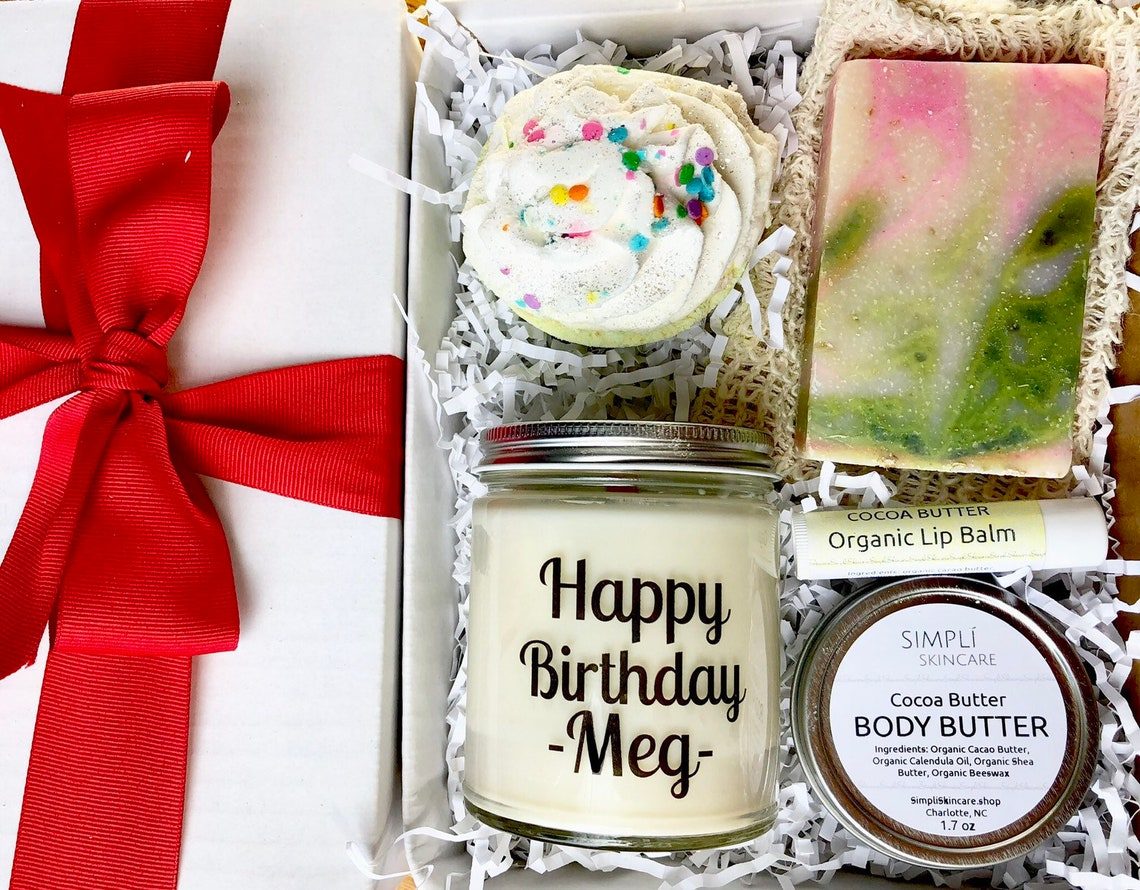 Candle Spa Gift Set