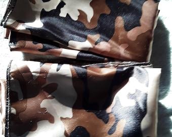 Brown Camouflage Wild Rag