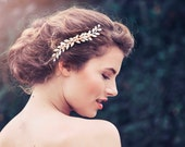 Romantic Decorative Wedding Hair Comb, Wedding Decorative Comb, Amira Bridal Hair Comb #GD1014