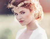 Romantic Decorative Wedding Hair Adornment, Wedding headpiece, Bridal headpiece, Aida Roman Style Bridal headpiece. #GD1036