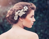 Romantic Decorative Wedding Hair vine, Wedding headpiece, Bridal headpiece, Anya Bridal Hair comb #GD1043