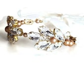 Wedding Bridal Cuff, matches the Gatsby Bridal Headpiece #322