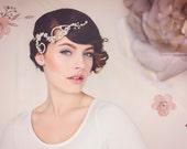 Autumn Wedding Bridal Hair Adornment. Jewelry Hair Vine. Wedding Hair Jewelry. The Elsie Silver Crystal Hair Vine #145