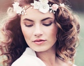 Romantic Decorative Wedding Hair vine, Wedding headpiece, Bridal headpiece, Appolonia Bridal Flower crown #GD1025