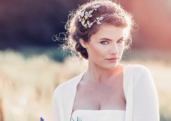 Romantische Deko Hochzeit Haar Schmuck Kopfschmuck Hochzeit Etsy