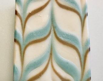 Goat Milk Soap,Jasmine Patchouli Fragrance, Extra Large Bath Bar, Shampoo bar