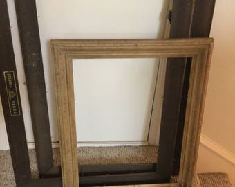 Antique wood picture frames Vintage Photograph Sold Antique Frameslot Of 3 Picture Frames Frames Wall Hangings Wall Frames Solid Wood Frames Antique Wood Frames Etsy Antique Wood Frame Etsy