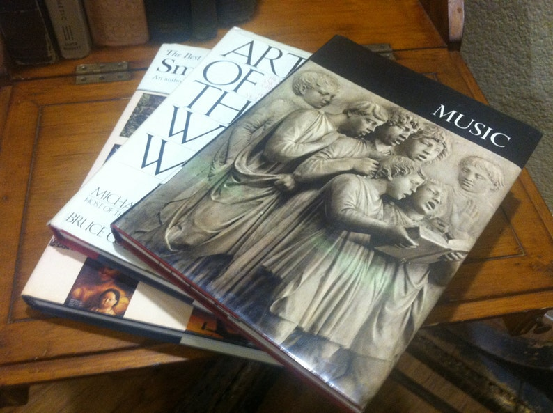 Best Music Coffee Table Books.Books Lot Of 3 Coffee Table Books The Best Of The Smithsonian Music Art Of The Western World 3 All Together
