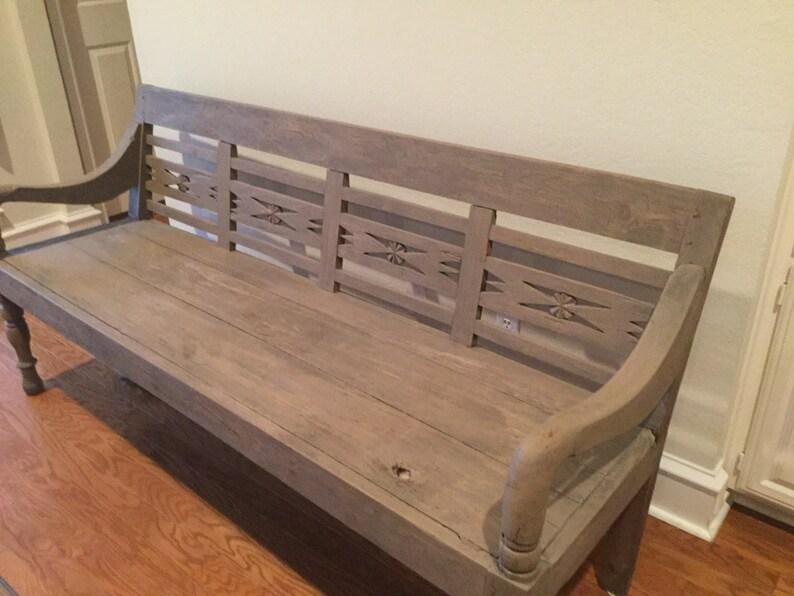 Bank Auf Verkauf Antike Möbel Rustikale Holzbank Verkauf Etsy