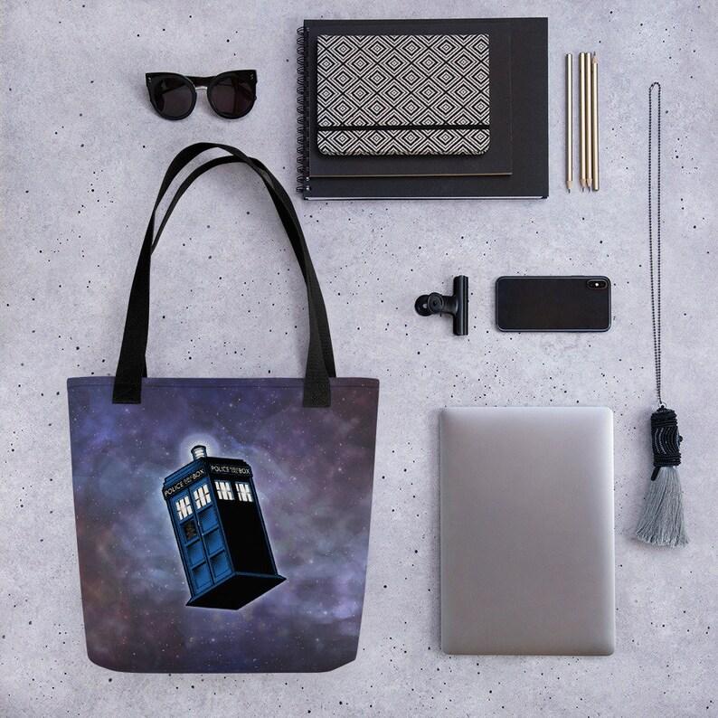 Doctor Who TARDIS tote bag image 0