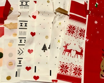 Gift Wrap Bags Upgrade - Decorative Reuseable Festive
