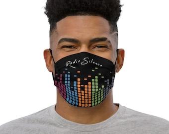 Radio Silence music face mask