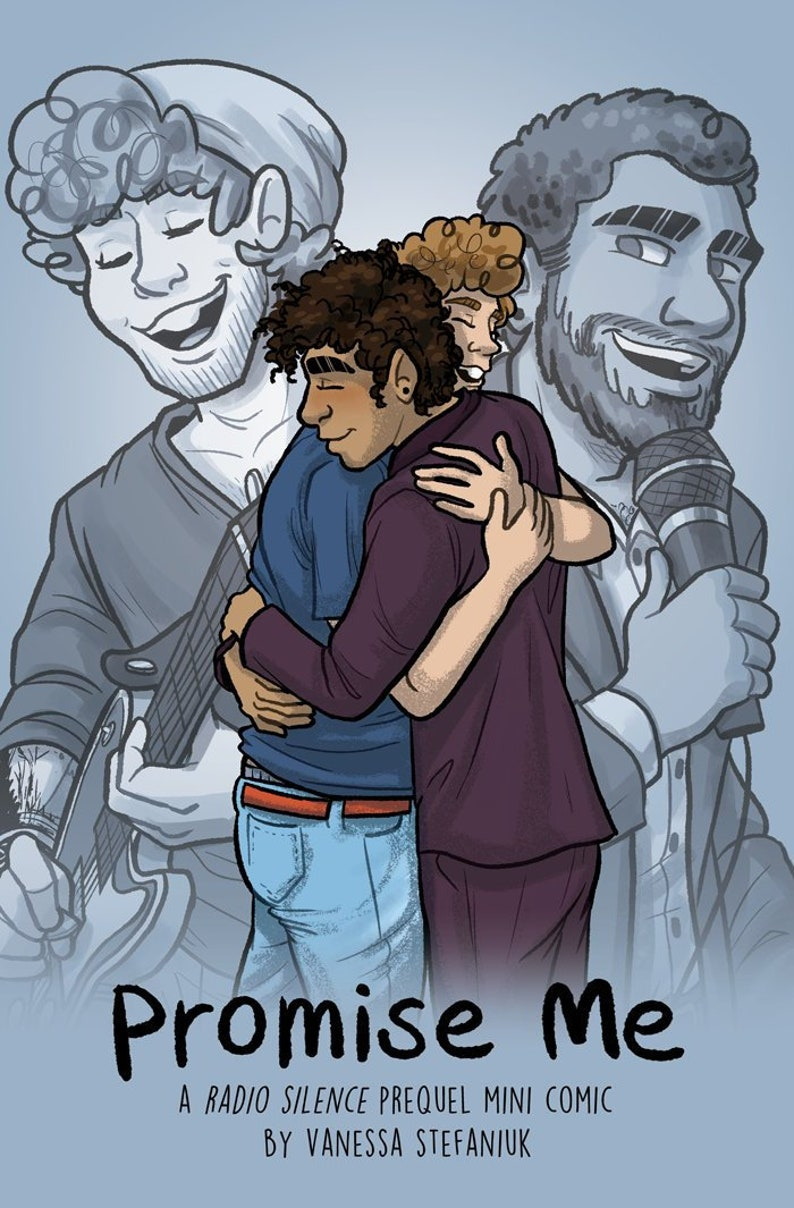 Promise Me mini graphic novel comic book of LGBTQ queer image 0