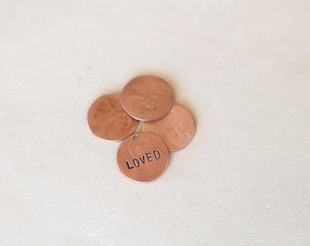 Penny jewelry | Etsy