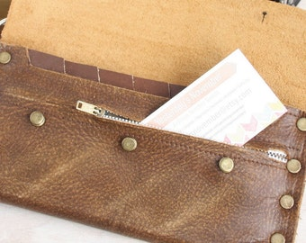 Zippered Coin Pouch, Upgrade, For Cash Envelope Wallet, This Is NOT A WALLET Only an upgrade for a wallet, Customization