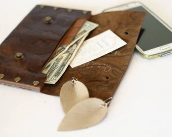 Real Leather Wallet, Time Saver, Money Saving, Budgeting Envelopes, Envelope System, Filing, Cash Envelope