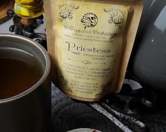 Priestess Organic Caffeine Free Loose Leaf Witch Tea