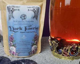 Dark Faerie Tea, Loose-Leaf Organic & Fair Trade Ritual Witch Tea