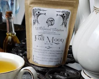 Full Moon Esbat Tea Organic Loose-Leaf Witch Tea